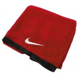 Полотенце NIKE FUNDAMENTAL TOWEL L SPORT REDWHITE