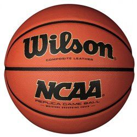 Мяч баскетбольный Wilson NCAA REPLICA GAME BALL SS14