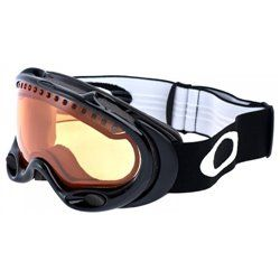 Маска Oakley A-FRAME SNOW JET BLACK W/PERSIMMIN