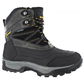 Ботинки Hi-tec SNOW PEAK 200 WP-BLACK/GOLD