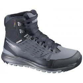Ботинки Salomon KAIPO MID CS WP BLACK/AUTOBAHN/PTR FW14-15