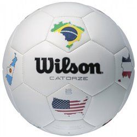 Мяч футбольный Wilson CATORZE W WORLD SS14