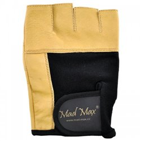 Перчатки для фитнеса MadMax FITNESS MFG 444 (S) - коричневый