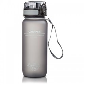 Бутылка для воды UZspace 3037 650 мл (серая)