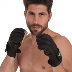 Пояс атлетический MadMax КОЖАНЫЙ MFB 245 (XL) - черный
