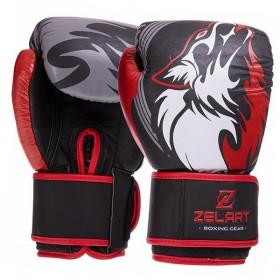Перчатки боксерские Energetics Boxing_Glove_Leather_TN