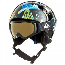 Набор с/б (шлем+маска) Quiksilver GAME PACK B