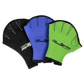 Перчатки для аква-аэробики SPRINT (без пальцев) размер М