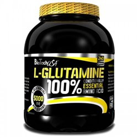 L-Глютамин BioTechUSA 100% L-GLUTAMINE - 240 гр