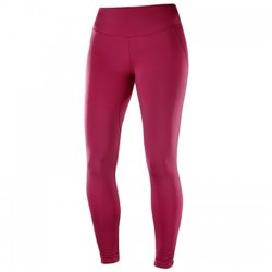 Тайтсы Salomon AGILE WARM TIGHT W Beet Red FW18-19