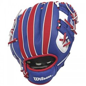 """Перчатка-ловушка бейсбольная Wilson A0200 10"""" MLB BATTER BBG SS18"""