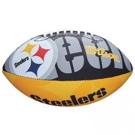 Мяч для американского футбола Wilson NFL JR TEAM LOGO FB PT SS18