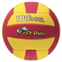 Мяч волейбольный Wilson SUPER SOFT PLAY VB RDYE B SS14