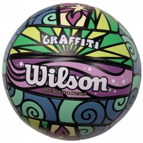 Мяч волейбольный Wilson GRAFFITI PR/BL/GR/YE SS18