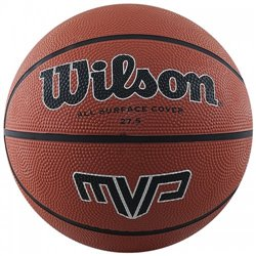 Мяч баскетбольный Wilson WILSON MVP 275 BBALL BROWN SZ5 SS19