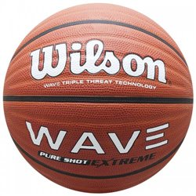 Мяч баскетбольный Wilson WAVE PURE SHOT EXTREME BBALL BROWN SZ7 SS19