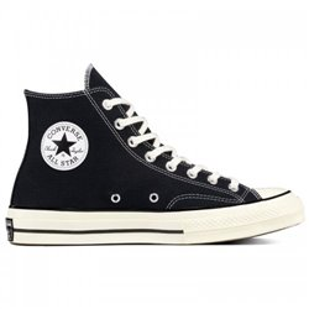 Кеды Converse CHUCK 70 HI BLACK/BLACK/EGRET