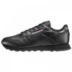 Кроссовки Reebok CL LTHR BLACK