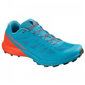 Кроссовки для бега Salomon SENSE PRO 3 Fjord Blue/CHERRY TO/U SS19