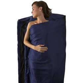 Вкладыш в спальник Sea To Summit 2020-21 Silk Stretch Liner - Long (Rectangular) Navy Blue