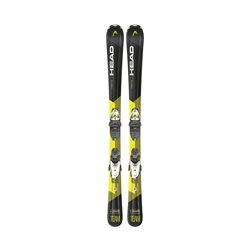 Горные лыжи с креплениями HEAD 2020-21 V-Shape Team SLR Pro (67-107)+SLR 4.5 GW AC BRAKE 80 [I] black/yellow