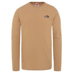 Футболка горнолыжная The North Face 2020-21 L/S Graphic Tee Utility Brown