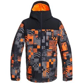 Куртка сноубордическая Quiksilver 2020-21 Morton Shocking orange radpack