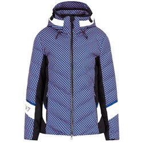 Куртка горнолыжная EA7 Emporio Armani 2020-21 SKI W JKT 9 Fancy magenta pois