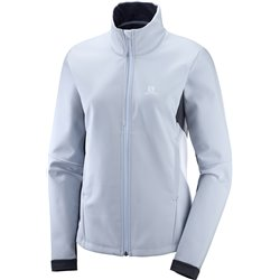 Куртка беговая SALOMON 2020-21 Agile softshell w Kentuc/Ebony
