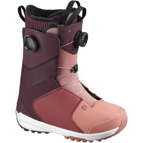 Ботинки для сноуборда SALOMON 2020-21 Kiana Focus Boa Winetasting
