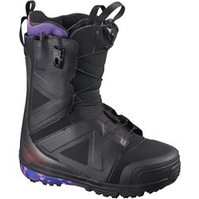 Ботинки для сноуборда SALOMON 2020-21 Hi-Fi Wide Black/Blue