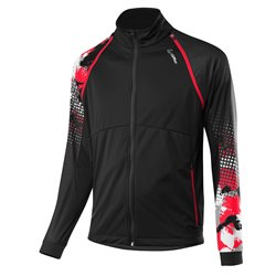 Куртка беговая Loeffler 2020-21 WS Light Black/Red