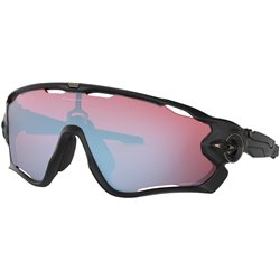 Очки солнцезащитные Oakley 2020-21 Jawbreaker Matte Black/Prizm Snow Sapphire