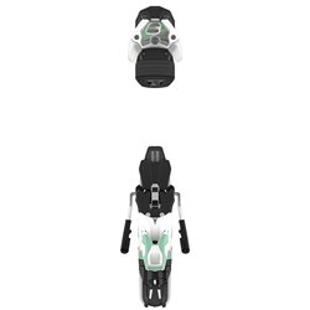 Горнолыжные крепления ATOMIC 2020-21 WARDEN 11 MNC White/Mint + brake 100