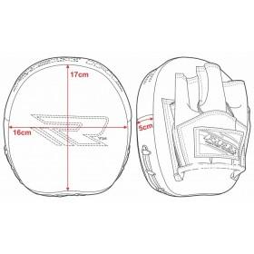 Очки горнолыжные Salice 2020-21 105DARWF White-Gold/RW Radium
