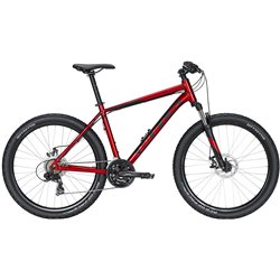 Велосипед Bulls Wildtail 1 Disc 27,5 2020 Chrome Red/Black Matt