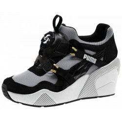 Ботинки Puma Disc Wedge Black and White Wn s