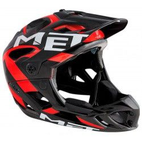 Шлем MET PARACHUTE M BLACK/RED