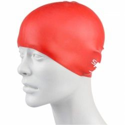 SPEEDO PLAIN MOULDED SILICONE JUNIOR CAP дет.шапочка для плав.