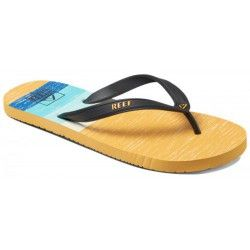 Тапочки Reef SWITCHFOOT PRIN WHITE/YELLOW/BL