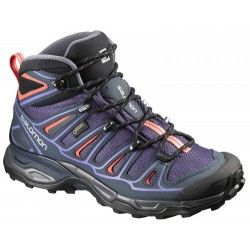 Ботинки Salomon X ULTRA MID 2 GTX® W NIGHTSHADE/BL FW16-17