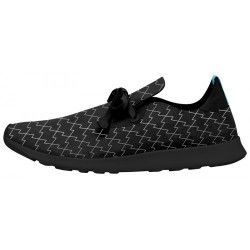 Кроссовки Native Shoes Apollo Moc Print Jiffy Black/Lightnight