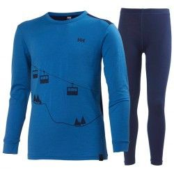 Термобелье Helly Hansen JR HH WOOL SET