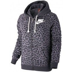 Толстовка NIKE RALLY FZ HOODY-CHEETAH