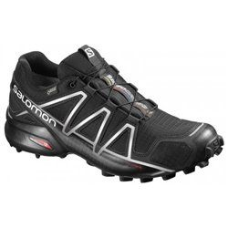 Кроссовки для бега Salomon SPEEDCROS4 GTX® BLACK/BLACK/SI FW16-17