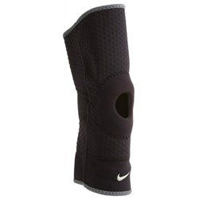 Наколенники Nike OPEN PATELLA KNEE SLEEVE L BLACKDARK CHARCOAL