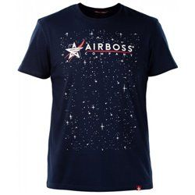 Футболка Airboss Nasa Logo Space Tee